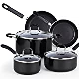Best Cooking Torches - Cook N Home 8-Piece Nonstick Heavy Gauge Cookware Review