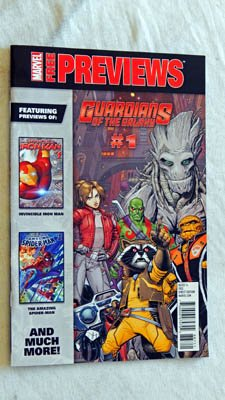 Marvel Previews All New All Different #1 UNCIRCULATED Comic Book - Marvel Comics 2015 - NEW Grade 9.8 - Guardians Of the Galaxy - Spider-Man - Captain America - X-Men - Avengers - Squirrel Girl (Guardians Of The Galaxy All New X Men)