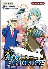 Ace Attorney : Phoenix Wright, Tome 3 par Kazuo Maekawa