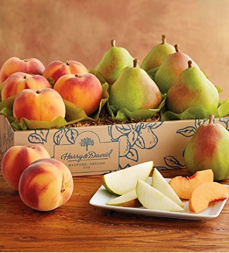 Harry and David Royal Verano Pears and Oregold Peaches | Gift (Harry And David Pears)