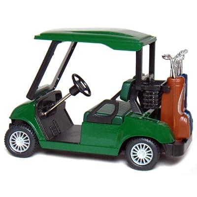 KinsFun Die-cast Metal Golf Cart Model, 4½
