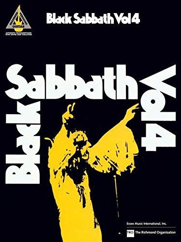 Sabbath Black Guitar (Black Sabbath Vol. 4 (Guitar Recorded Versions))