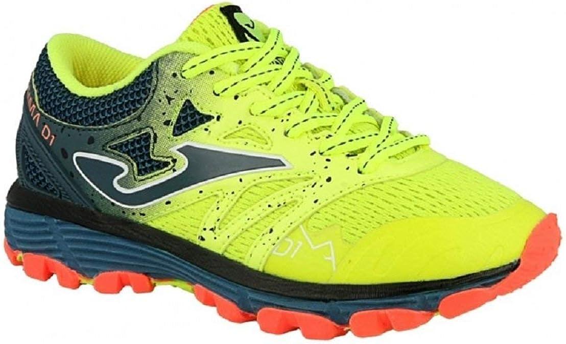 Joma Sima JR 811 Fluor- Zapato de Trail Running para niños - J.SIMAS-811 (EU 38 - CM 24.5 - UK 5): Amazon.es: Zapatos y complementos