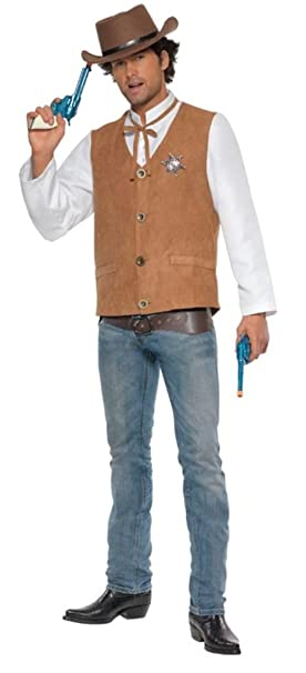 Amazon Com Cowboy Costume For Men Clothing