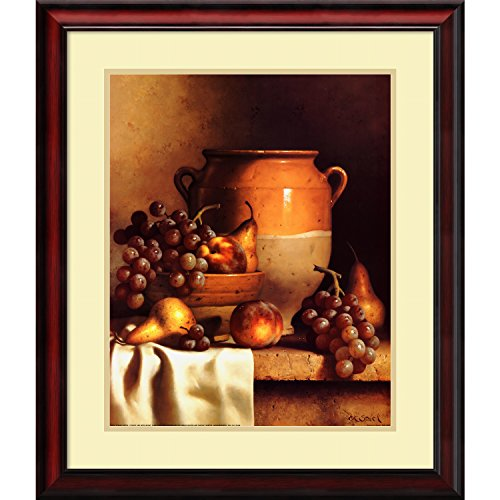 Framed Art Print, 'Confit Jar with Bowl' by Loran Speck: Outer Size 24 x (Confit Jar)