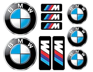 Amazoncom BMW Logo Decals Stickers Everything Else - Bmw car decals stickers