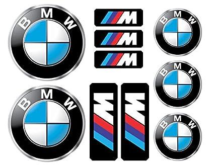 Bmw logo decals stickers