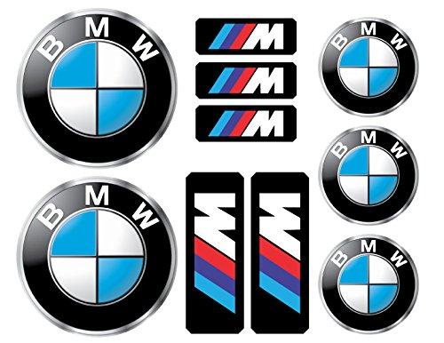 - BMW logo decals, stickers