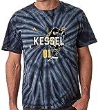 "The Silo TIE DIE BLACK Phil Kessel Pittsburgh ""AIR"" T-Shirt"