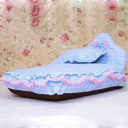 WeMore(TM) Fashion Dog Beds Princess Lovely Pet Puppy Kennels Soft Foams Padded Washable
