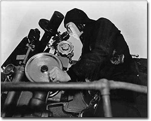WWII Liberty Ship Navy Armed Guard 8x10 Silver Halide Photo Print ()