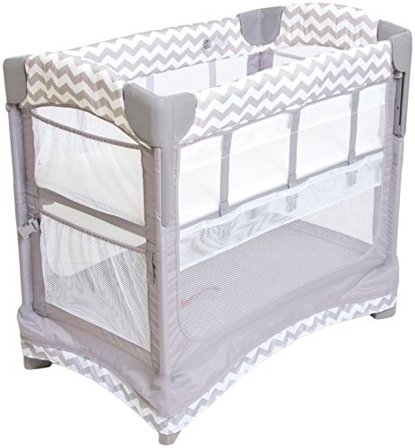 Arms Reach Concepts Inc. Mini Ezee 2 in 1 Co-Sleeper, Chevron, One Size, 5 Pack by Arm's Reach