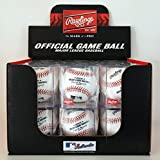 Rawlings Official MLB Baseball 12 Pack - (One Dozen Balls) Display Cubes Included