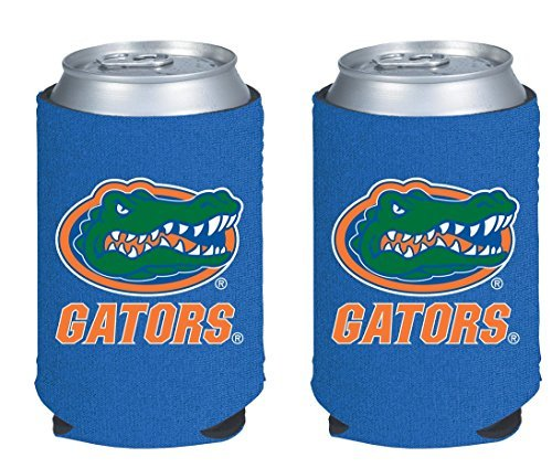 NCAA College 2014 Team Logo Color Can Kaddy Holder Cooler (Florida Gators Tailgate Cooler)
