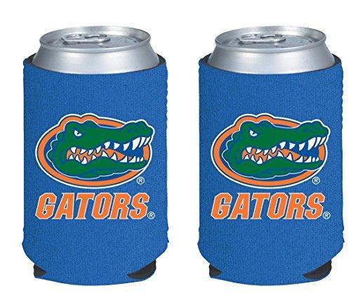NCAA College 2014 Team Logo Color Can Kaddy Holder Cooler 2-Pack (Florida - Kaddy Florida