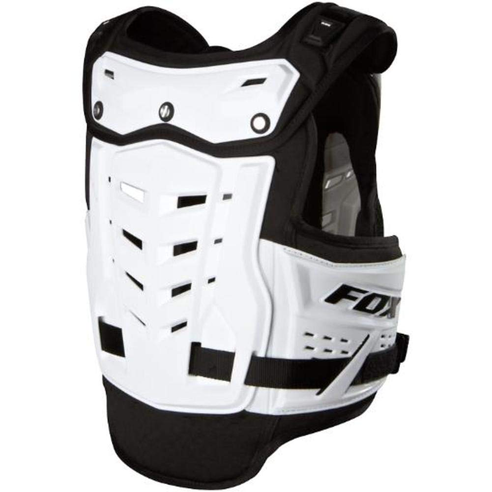 Fox Racing Raptor Proframe LC Youth Roost Deflector Off-Road/Dirt Bike Motorcycle Body Armor - White/One Size