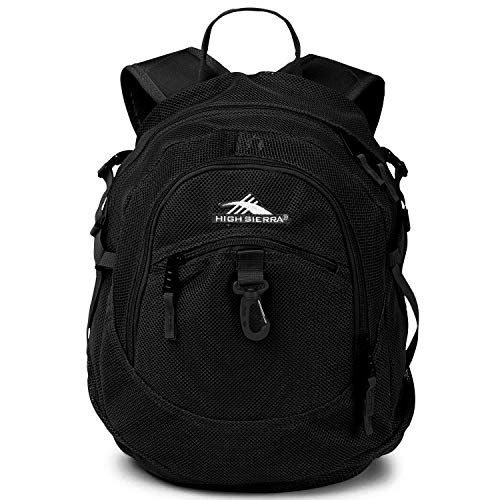 High Sierra Airhead Mesh Backpack, Black