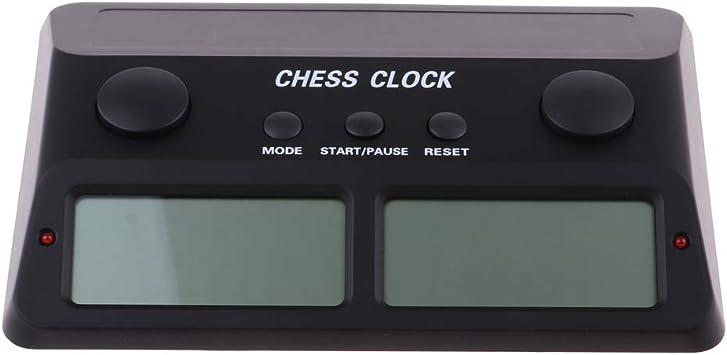 Temporizador Electrónico de Juego de Damas para Juegos de Mesa de Dos Jugadores Competitivos - Estilo 2 Negro: Amazon.es: Juguetes y juegos