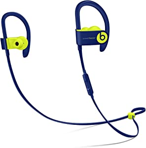 Beats by Dr Dre Powerbeats3 Wireless in-Ear Bluetooth Headphone with Mic - Beats Pop Collection- Pop Indigo(Renewed)