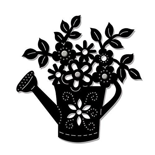 Sweet Dixie Floral Motif Die, Metal, Grey Personal Impressions SDD121