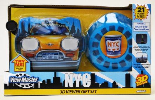 Basic Fun NY ViewMaster Taxi Gift Set: Popular Destinations