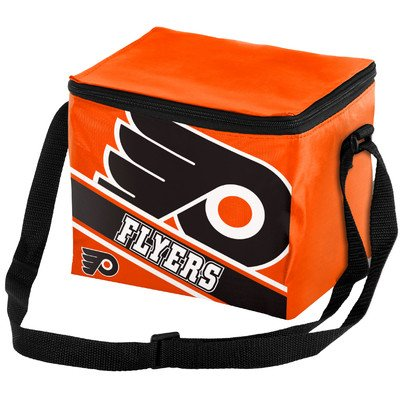 Philadelphia Flyers Big Logo Stripe 6 Pack Cooler
