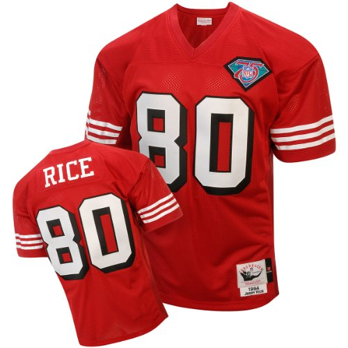 49ers rice jersey - 2
