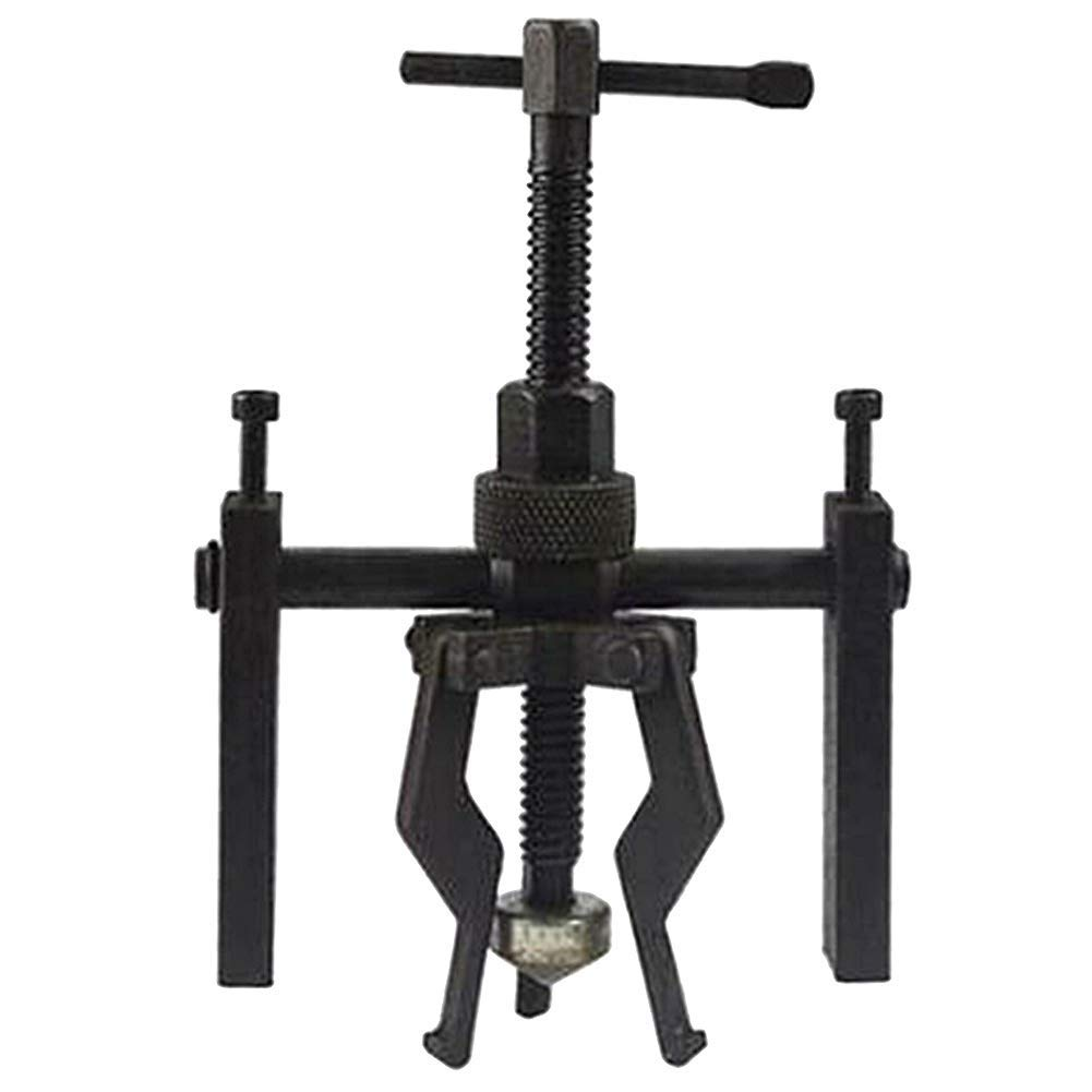 Bearing Gear Puller Carbon Steel Bearing Gear Remover Adjustable Bearing Gear Puller Tool for Wheels /& Bearings Black