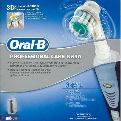 Braun 8850 Professional Electric Toothbrush