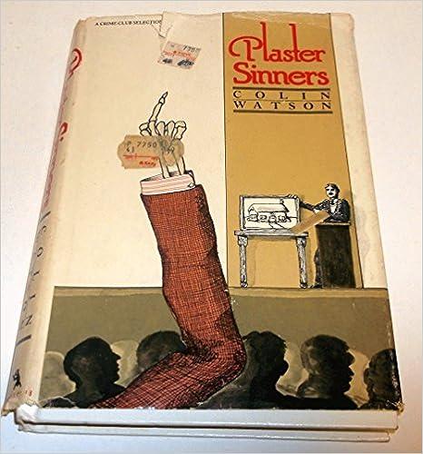 Book Plaster sinners