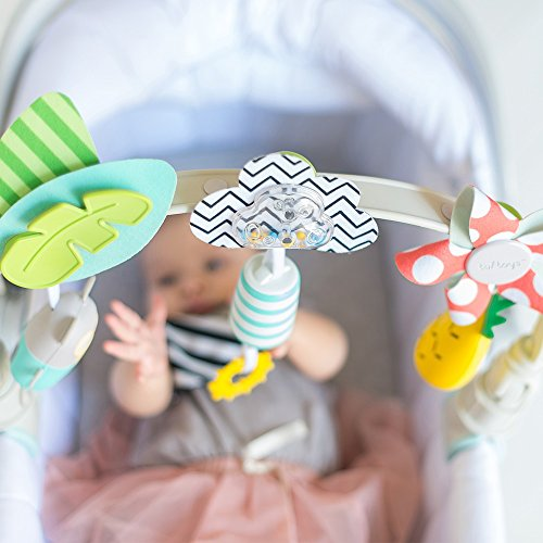 Taf Toys 'Tropical Orchestra Arch' | Ideal for Infant & Toddlers, Fits Stroller & Pram, Activity Arch with Fascinating Toys, Stimulates Baby's Senses and Motor Skills Development, Easier Outdoors by Taf Toys (Image #7)