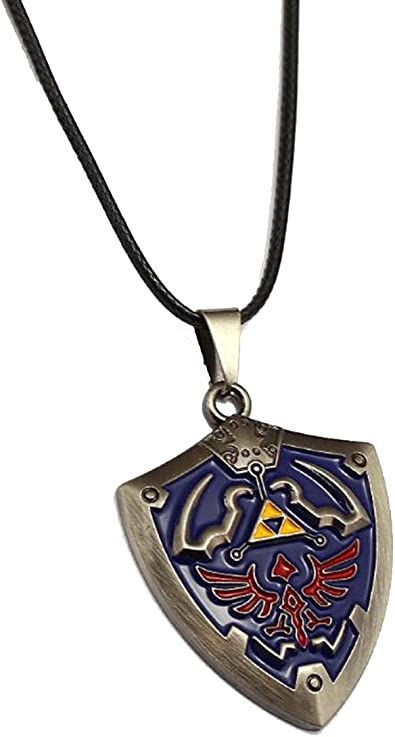 Onlyfo The Legend of Zelda Collar con Colgante con Caja de joyería ...