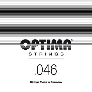 Optima 1945 M Jazz Swing CHROME Roundwound Strings, medium A-5