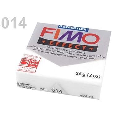 1pc 014 Blanco Translúcido FIMO de Polímero de Arcilla 56-57g Efecto, la Artesanía Y Aficiones: Hogar