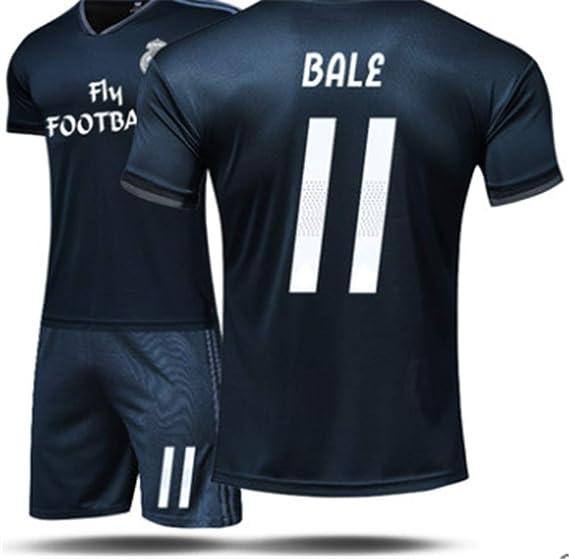 8221ceb68 LISIMKE Real Madrid Away Soccer 11 Bell Jersey 2018 2019 Men s Soccer ...