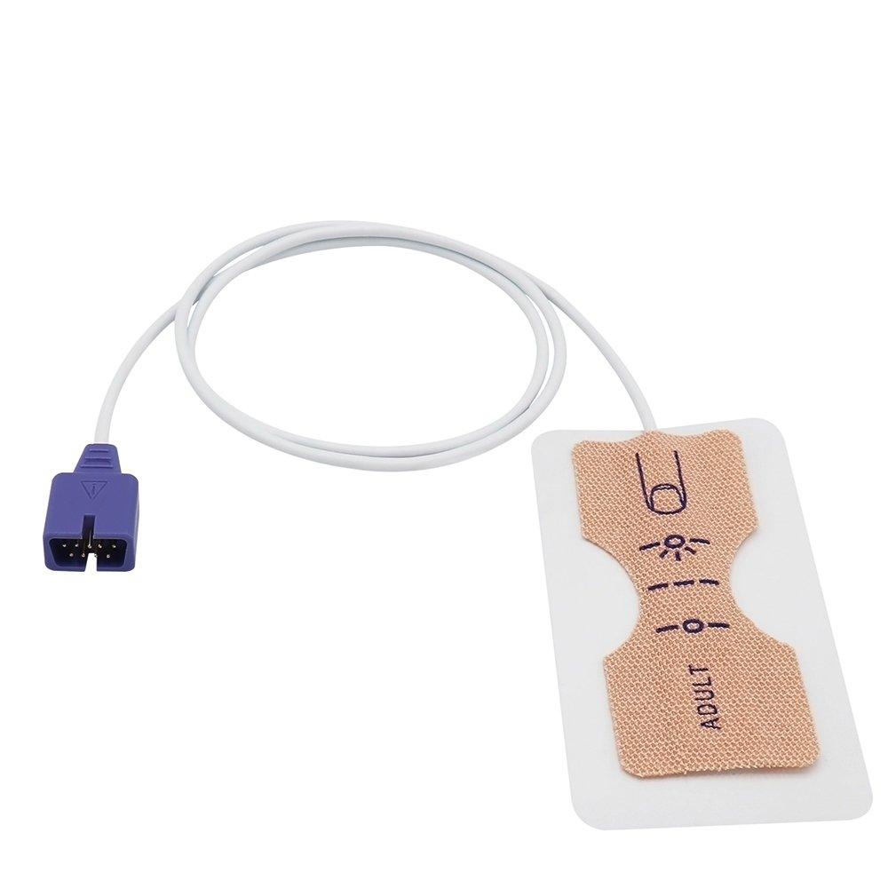 Amazon com: Disposable Adult SpO2 Sensor for Nellcor MAX-A