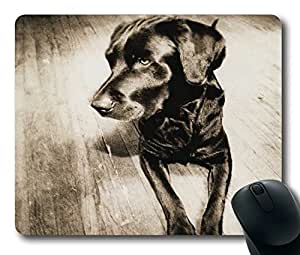 Cute Dog Easter Thanksgiving Personlized Masterpiece Limited Design Oblong Mouse Pad by Cases & Mousepads