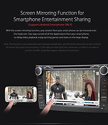 Amazon.com: XTRONS Double 2 Din 8 inch HD Digital Touch ...