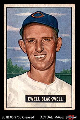 1951 Bowman # 24 Ewell Blackwell Cincinnati Reds (Baseball Card) Dean's Cards 3 - VG Reds