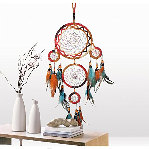 Bureze - Atrapasueños Estilo Indio para Decorar la habitación, decoración del hogar, atrapasueños Colgante Regalo