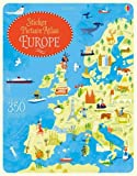 Sticker Picture Atlas of Europe (Activity Books)