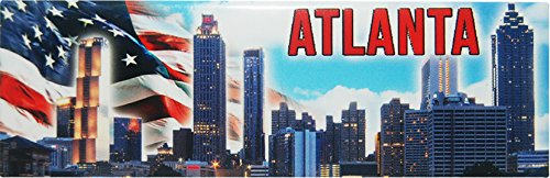 (American Cities and States of Magnets (Atlanta Skyline Magnet))