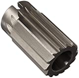 Drill America DWRRS2-1/16 HSS Straight Flute Shell Reamer, 2-1/16''