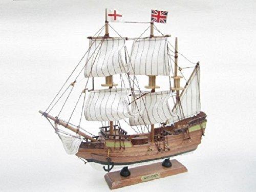 Mayflower Starter Boat Kit: Build Your Own Wooden Model Ship Tasma TE29009-33B