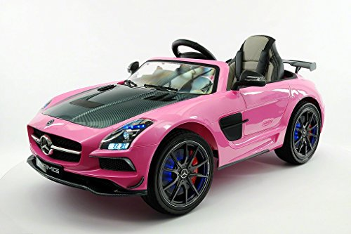 Replica SLS Style Race Car Front Left Pink