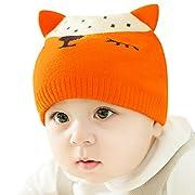 IMLECK Warm Cute Unisex Newborn Baby Fall Winter Little Fox Hat