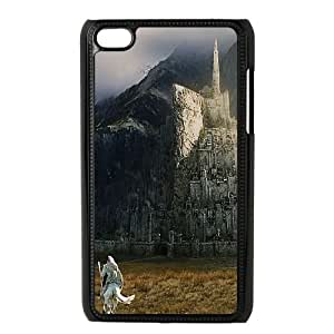iPod Touch 4 Case Black minas tirith lord of the ring art B8W7GT