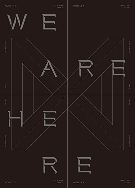 Starship Monsta X - WE are HERE [I ver ] (Vol 2 Take 2) 1CD+134p  Photobook+2Photocard+Pre-Order Benefit+Folded Poster+Double Side Extra  Photocards Set