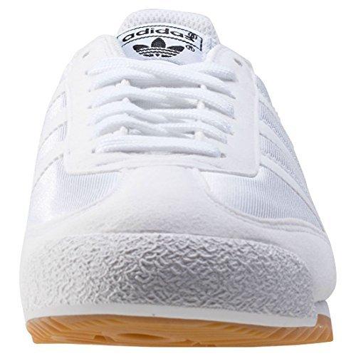 Adidas Originals Mens Dragon OG Fashion Sneaker, White/White/Gum 11.5