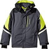 Obermeyer Kids  Boy's Fleet Jacket (Little Kids/Big Kids) Ebony X-Large